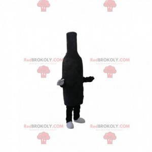 Maskot černá sametová láhev - Redbrokoly.com