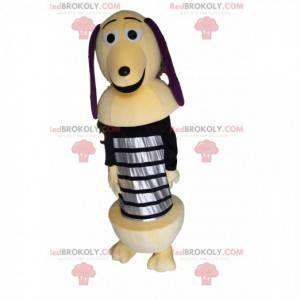 Zickzack-Maskottchen, der Hund auf einer Feder aus Toy Story -
