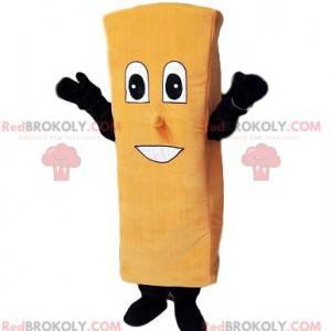 Mascote do biscoito com um grande sorriso - Redbrokoly.com
