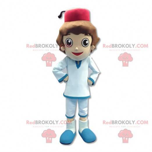 Malý sultán chlapec maskot - Redbrokoly.com