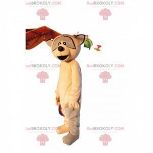 Mascot mapache marrón. Disfraz de mapache - Redbrokoly.com
