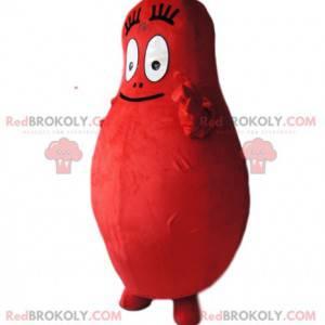 Barbidur-Maskottchen, der rote Barbapapa - Redbrokoly.com