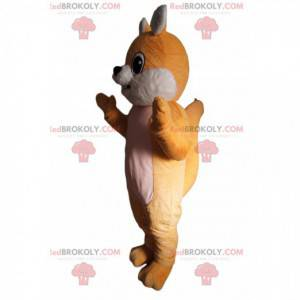 Adorabile mascotte piccola volpe - Redbrokoly.com