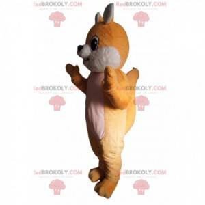 Mascote de raposa adorável - Redbrokoly.com