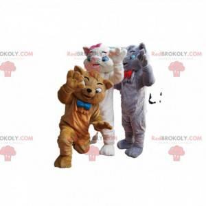 Aristocats mascot trio. Aristocats Costume - Redbrokoly.com