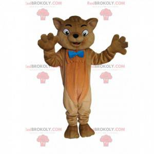 Mascot Toulouse, the fabulous brown cat of the Aristocats -