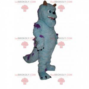 Mascot Sulli, the fun blue monster from Monsters Inc. -