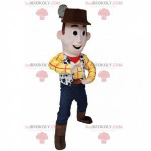 Mascotte van Woody, de supercowboy uit Toy Story -