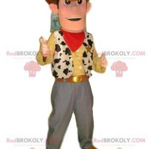 Woody Maskottchen, aus dem Toy Story Cartoon - Redbrokoly.com