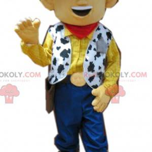 Urkomisches Woody-Maskottchen, unser Cowboy aus Toy Story -