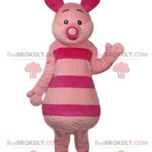 Mascota de lechón de dibujos animados de Winnie the Pooh -