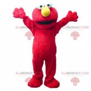Elmo mascotte famoso burattino rosso - Redbrokoly.com