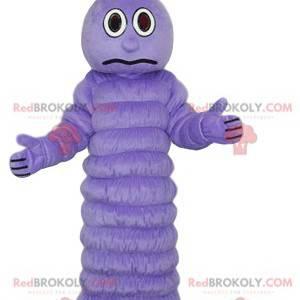 Lilla larvemaskot med et overrasket look - Redbrokoly.com