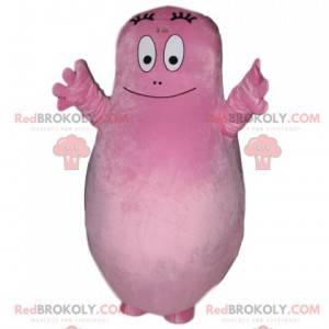 Barbapapa-Maskottchen, der ganz rosa Papa - Redbrokoly.com