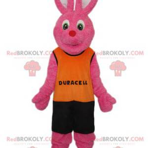 Duracell Pink Rabbit Mascot - Redbrokoly.com