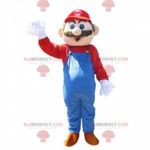 Mascot Mario Bros, the famous Nintendo character -