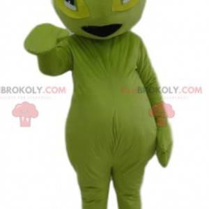 Mascote da formiga verde. Traje de formiga verde -