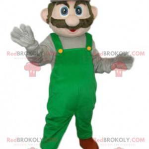 Mascot of Luigi, den berømte karakter af Mario fra Nintendo -