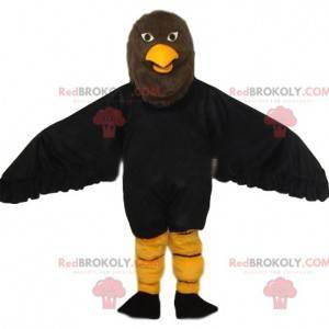 Majestatyczna maskotka orła brązowego. Kostium orła -