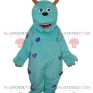 Maskot af Sully det berømte blå monster fra Monstres et Cie! -