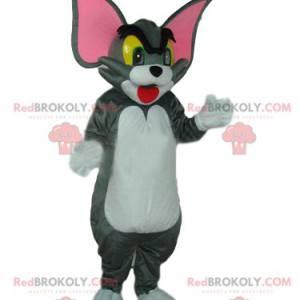 Mascote Tom, o gato cinza do desenho animado Tom e Jerry -