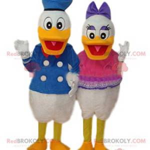 Dúo de mascotas Donald y Daisy - Redbrokoly.com