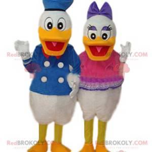 Donald und Daisy Maskottchen Duo - Redbrokoly.com