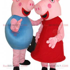 Peppa Pig und George Pig Kostüm Duo - Redbrokoly.com