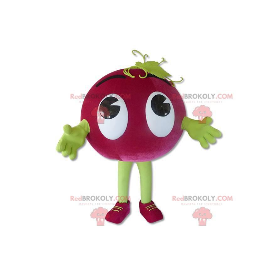 Grape mascot - Redbrokoly.com