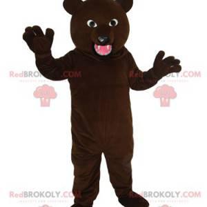 Vår aggressive brunbjørnemaskot - Redbrokoly.com