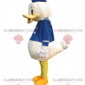 Donald Maskottchen mit seinem Matrosenkostüm - Redbrokoly.com