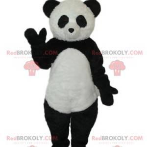 Mascota panda blanco y negro. Disfraz de panda - Redbrokoly.com