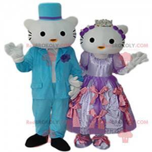 Hello Kitty og Prince Mascot Duo - Redbrokoly.com