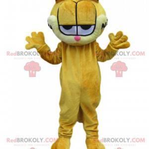 Garfield-mascotte, onze favoriete hebzuchtige kat -