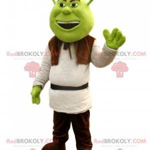 Shrek-maskot, den sjove ogre fra Walt Disney - Redbrokoly.com