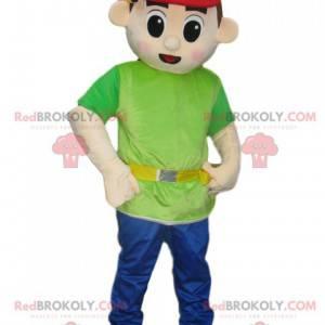 Mascot foreman with a cap - Redbrokoly.com