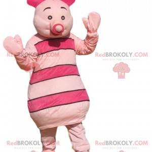 Mascota del lechón, el mejor amigo de Winnie the Pooh -