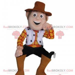 Maskot af Woody, den sublime cowboy fra Toy Story -