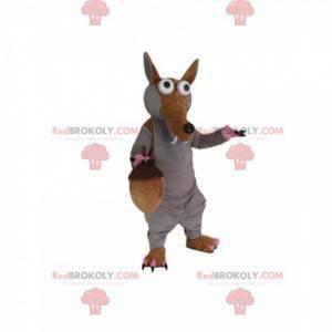 Maskottchen Scrat, das eiszeitliche Eichhörnchen -