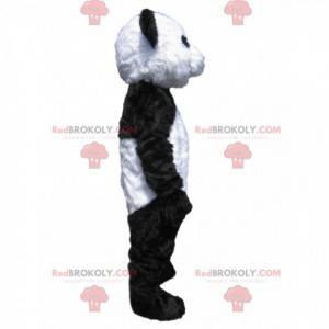 Zwart-witte panda-mascotte - Redbrokoly.com