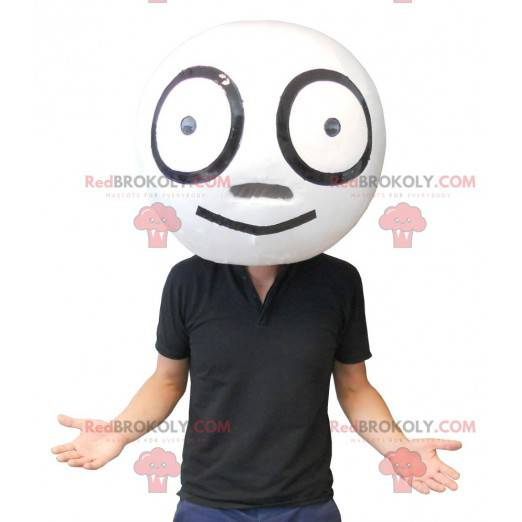 Duża olbrzymia biała głowa - Redbrokoly.com