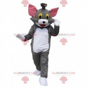 Tom mascotte, de beroemde kat uit de tekenfilm Tom en Jerry -