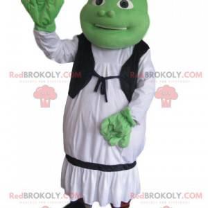 Maskot av Shrek, Walt Disney's troll - Redbrokoly.com