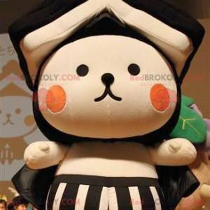 Maskot medvídek se střechou - asijský maskot - Redbrokoly.com