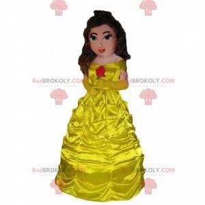 Schoonheid de prinses, schoonheid en het beest-mascotte -
