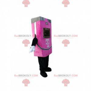 Mascot fuchsia automatic machine with screen - Redbrokoly.com