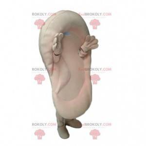 Big cream ear mascot. Ear costume - Redbrokoly.com