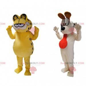 Maskotové duo Garfield a Odie the Dog! - Redbrokoly.com