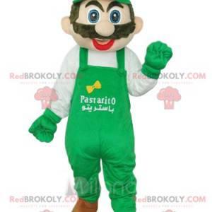 Maskot Luigi, společník Nintenda Mario - Redbrokoly.com