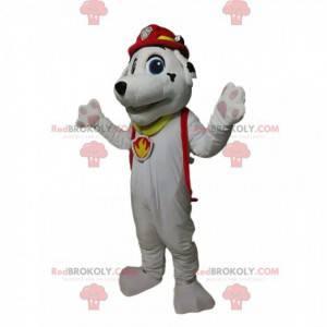 Mascot Marshall, Paw Patrol the Dalmatian firefighter -